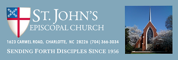 St. John's Episcopal Church | Charlotte (Redesign)